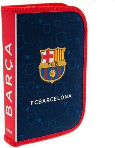 FCB FC Barcelona - Set de estuche con materiales (Talla Única/Azul/Rojo): Amazon.es: Ropa y accesorios