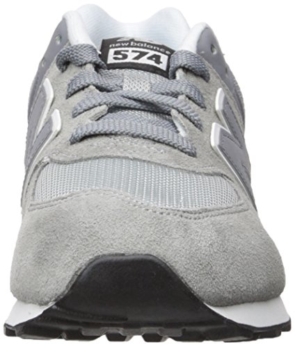 New Balance Trainers - New Balance Kids 574 Lac... Grey/Black