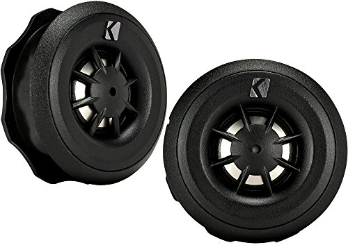 Kicker 43CST204 3/4″ Titanium Dome Cs-Series Car Tweeters