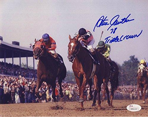 Autographed Triple Crown - Steve Cauthen Jockey Signed