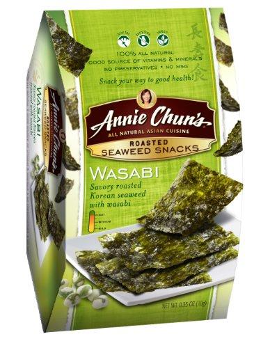 Annie Chun's Roasted Wasabi Seaweed Snacks