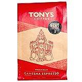 Tony's Coffee Ganesha Espresso Whole Bean, 12 oz