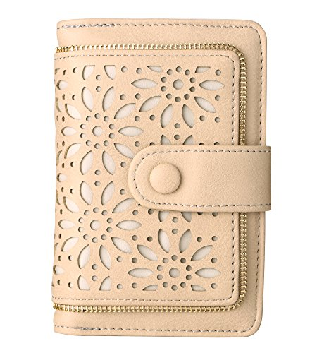 Women RFID Blocking Vintage Organizer Wallet for Ladies Small Purse with Multi Card Holder by Fanaztee (Image #1)