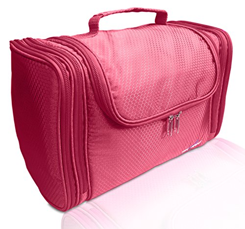 "TRAVANDO XXL Toiletry Bag for Women""MAXI"" with Hanging Hook 