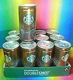 STARBUCKS ESPRESSO + MILK DOUBLESHOT ESPRESSO CAN 12 X 200 ML,PREMIUM COFFEE