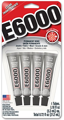 Price comparison product image E6000 5510310 Craft Adhesive Mini (4 Pack)