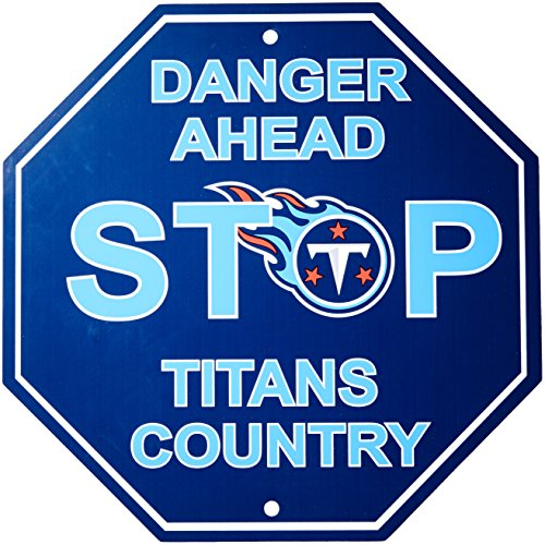 NFL Tennessee Titans Stop Sign, 12' x 12'