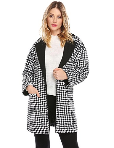 houndstooth wool dress - 5