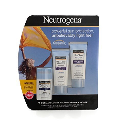 Neutrogena Ultra Sheer Dry-Touch Sunscreen Lotion - Value Pack
