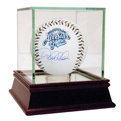 Derek Jeter Autographed Baseball - DEREK JETER NEW YORK YANKEES AUTOGRAPHED 2002 ALL-STAR LOGO BASEBALL