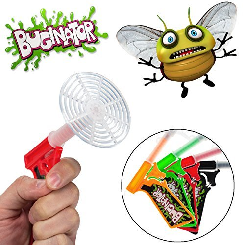 4pk Buginator Fly Swatter Guns Insect Bug Pest Killer Spring Loaded Shot Shooter, Model: , Home/Garden & Outdoor Store