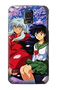 S1903 Inuyasha Kagome Case Cover For Samsung Galaxy S5