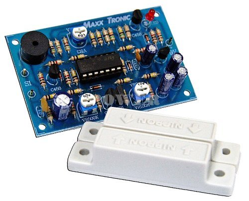 Freezer Alarm Door (Door Alarm Time Delay 9-12 Vdc Electronic Circuit Kit : MXA077)
