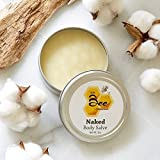 Natural Beeswax Body Salve (Unscented) 3oz - Little Bee of CT, A Martha Stewart American Made Maker