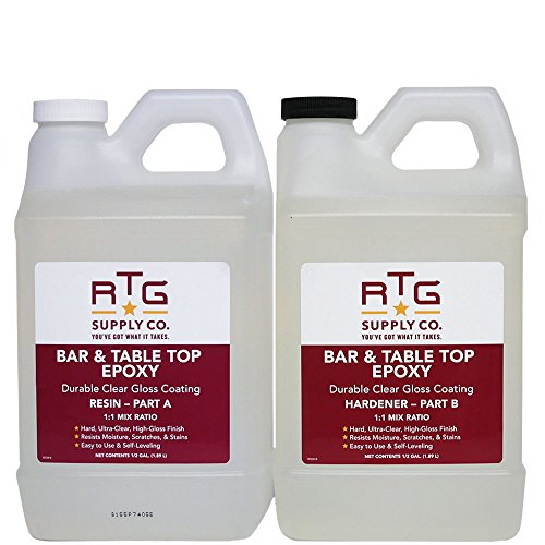 RTG Bar & Table Top Epoxy (Gallon Kit) by RTG