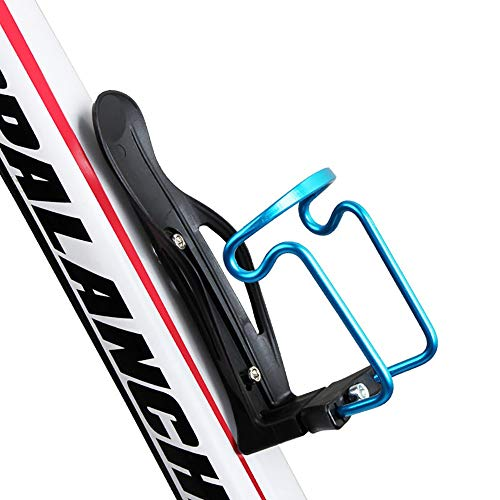 YAUUYA Bike Bottle Holder Bicycle Cup Holder Rotation Cycling Water Bottle Cages fit Bicycles Mountain Bike Adjustable…