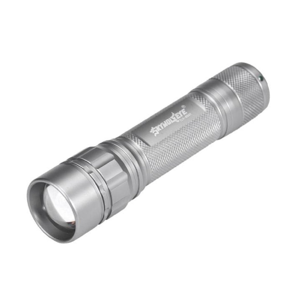 LED Flashlight,IEason Mini 3500LM Zoomable CREE Q5 LED Flashlight 3 Mode Torch Super Bright Light Lamp (J)
