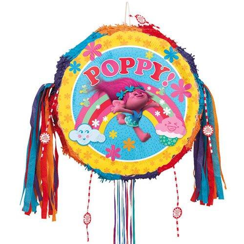 Trolls Poppy Pull String Pinata Partyrama 3395001AMS-HMP