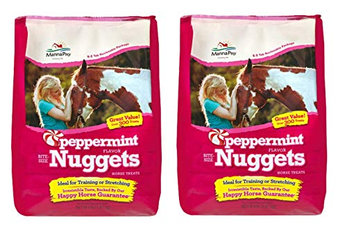 (Manna Pro Horse Treat Multipack Peppermint, 4 Pounds (Pack of 2))
