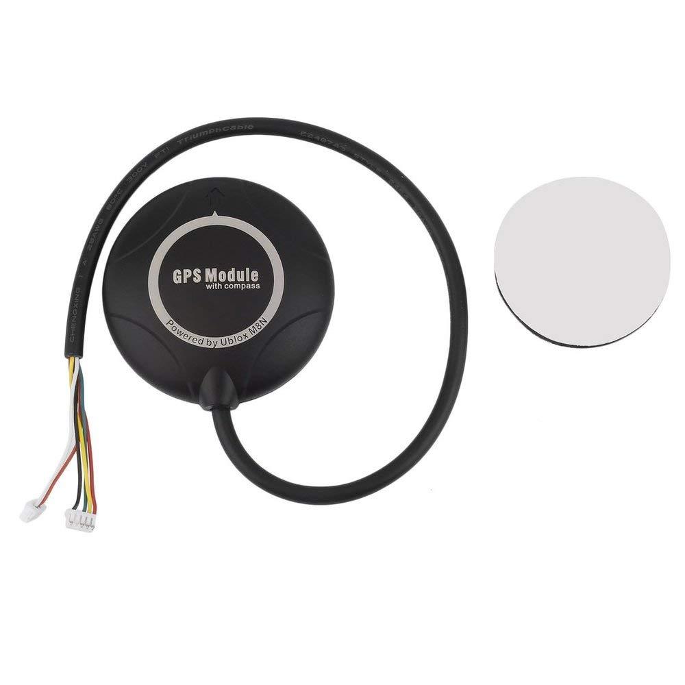 Emily 1pcs OCDAY NEO-M8N Flight Controller GPS Module with Compass PX4 Pixhawk TR black