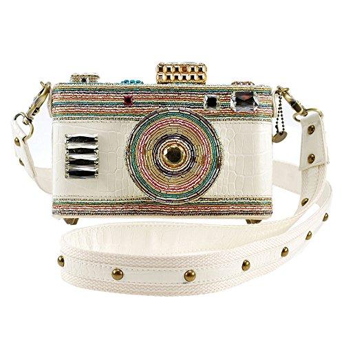 Handbag Focus Crossbody Beaded In MARY FRANCES Camera Handbag 0nqR1ZxT