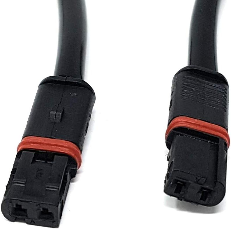 0201 C/âble adaptateur pour clignotant de moto avec fiche 2 broches