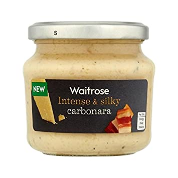 Carbonara Pasta Sauce Waitrose 190g - Pack of 2
