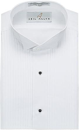 mens black shirt 19 inch collar
