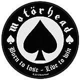 : Motorhead Men's Born To Lose Woven Patch Black