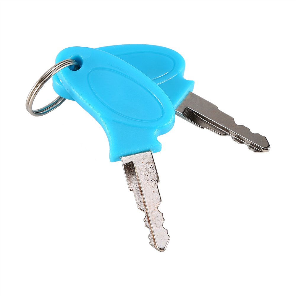 Qiilu Interruptor de encendido con llave de 2 hilos Cerradura de bloqueo con llave para scooter eléctrico ATV Moped Kart: Amazon.es: Coche y moto