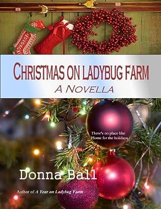 book cover of Christmas on Ladybug Farm