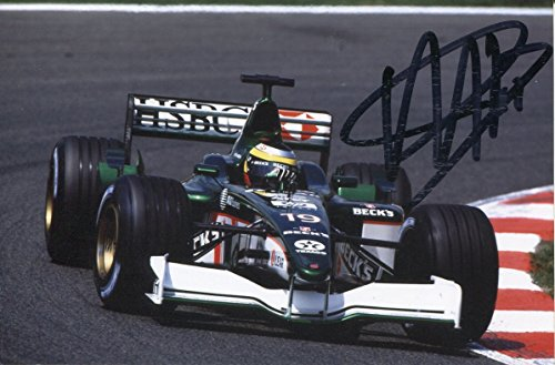 (Pedro De La Rosa autograph Spanish Formula One driver, signed photo )