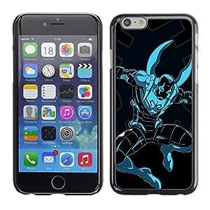 Shell-Star Arte & diseño plástico duro Fundas Cover Cubre Hard Case Cover para Apple iPhone 6(4.7 inches) ( Superhero Comics Character Figure Art )