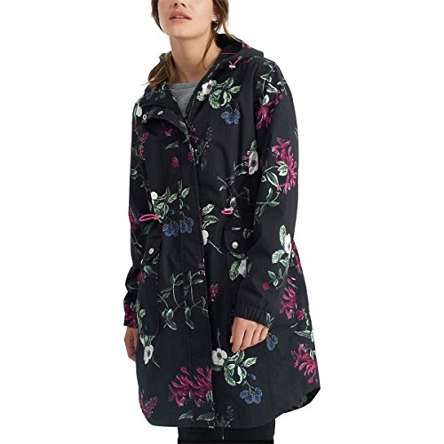 Joules Raina Print Jacket - Women's Black Hedgegrow, 10