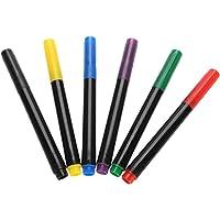 Marcador de pintura corporal, rotulador 6 colores Marcador
