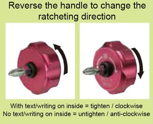 innovative low profile//squat stubby ratcheting palm screwdriver Engineer dr-54