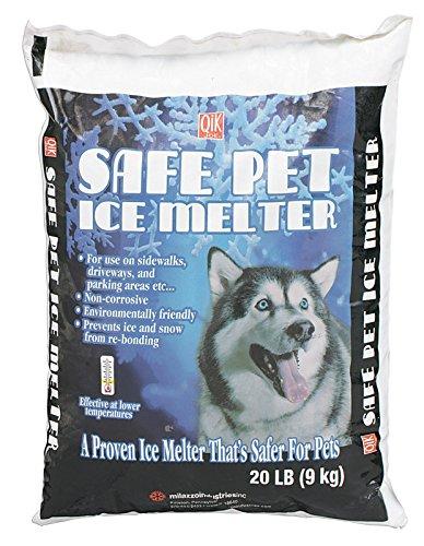Milazzo Ice Melter (Milazzo Industries 02020 Qik Joe Safe Pet Ice Melter, 20-Pound)