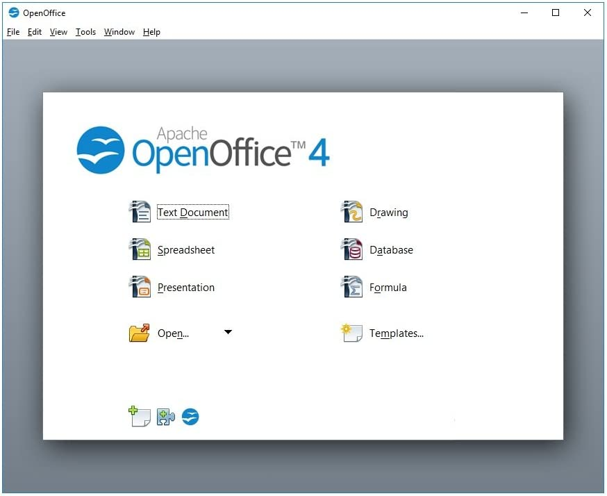 Amazon Com Open Office On Cd For Home Student And Business Compatible With Microsoft Office Word Excel Powerpoint For Windows 10 8 7 Powered By Apache
