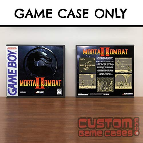 Gameboy Mortal Kombat II - Game Case (Monopoly Game Boy)