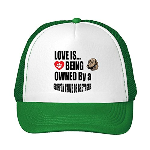 Kerr Juliet Fox Terrier Smooth Dog More People I meet I Love My Adjustable Trucker Hat (Smooth Fox Terrier Embroidery)