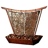 Sunnydaze Phoenix Tabletop Fountain, Copper, 20 Inch