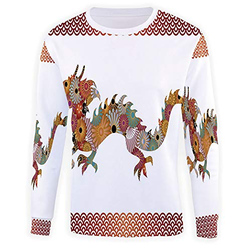 Crewneck Sweatshirt Dragon Sweater - Premium Quality TV Shirt -