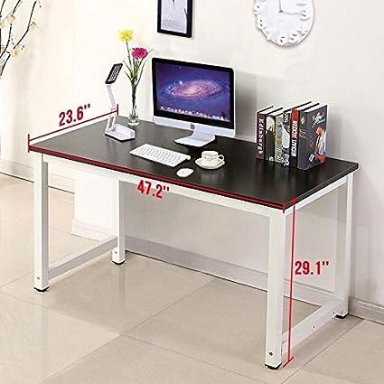 Escritorio para ordenador para Simple estilo estación de trabajo para oficina en casa portátil estudio oficina