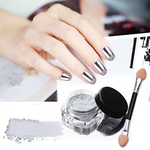 Chrome Nail Polish Usa: CINEEN 7 Colors Mirror Powder Set Nail Art Chrome Effect