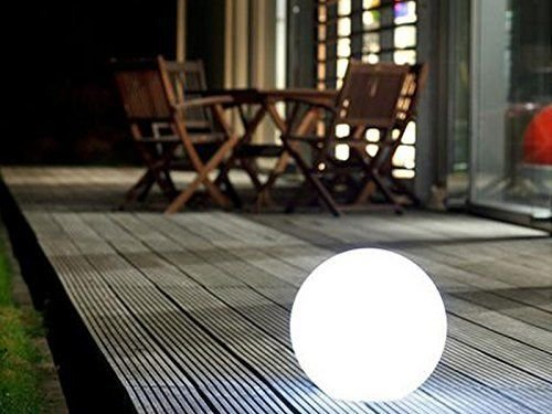 Briday Landscape Light – Rechargeable LED Lighting Pool & Decoration Sphere,LED Globe Lamp Wireless Rechargeable Ball Lantern – Home, Patio, Pool Glow Light (25cm25cm25cm)
