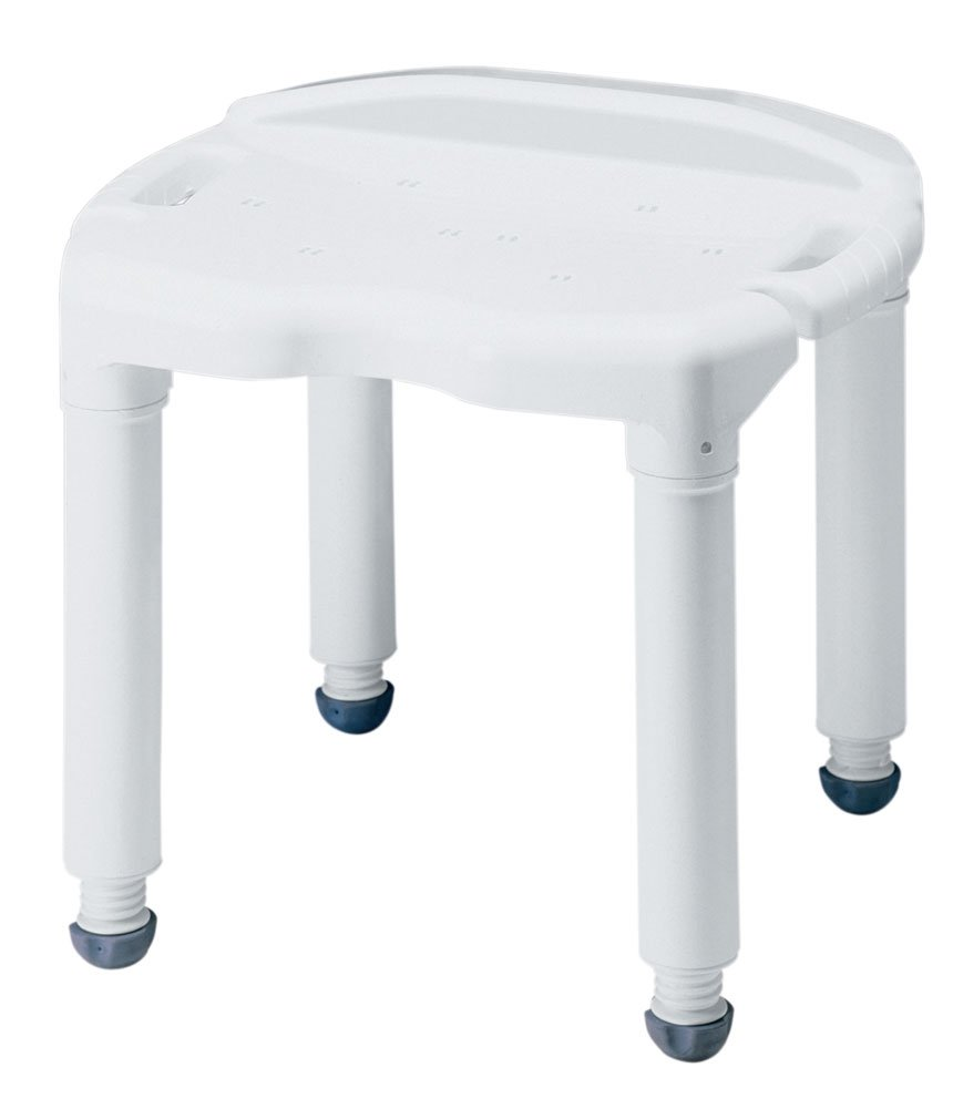 Amazon.com: Heavy-Duty Carex Bath and Shower Seat Without Back ...