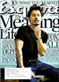 Esquire Magazine - January 2008: Tim Burton & Johnny Depp + Much More!