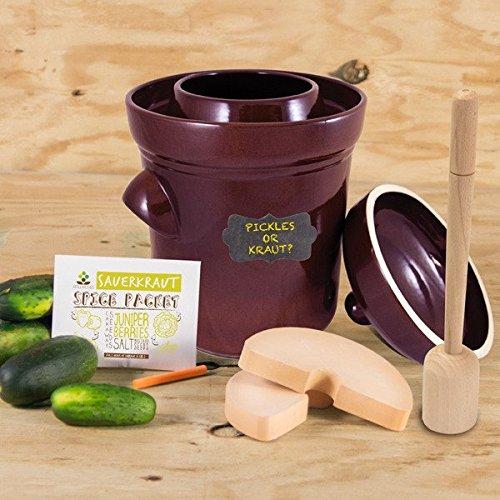 pickling crock kit - 7