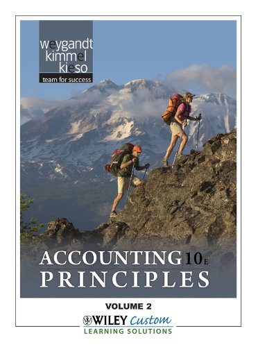 Accounting Principles, Volume 2