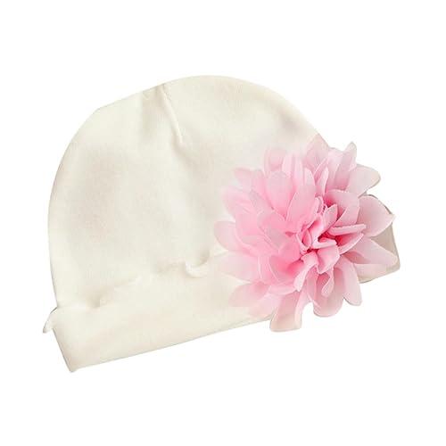 Gorras para bebé, Dragon868 Suave nuevo bebé recién nacido niñas sombreros de algodón de flores